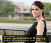 Natural light fashion portrait photography