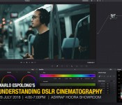 UNDERSTANDING DSLR CINEMATOGRAPHY